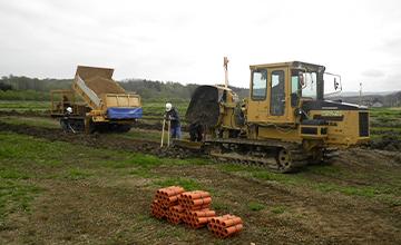 農業土木工事の画像