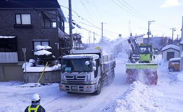 除排雪作業の画像