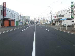 月寒西岡線(西岡162号線~西岡横線間)舗装路面改良工事