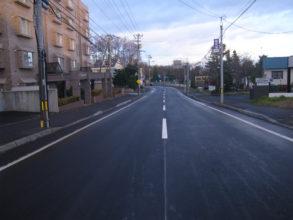 道道札幌環状線(滝の沢3号線~円山西町2丁目1号線)舗装路面改良工事