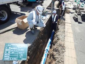 白石区北郷地区配水管更新工事