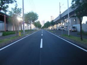 二十四軒高架側道線(道道札幌環状線~琴似9丁目線間)ほか1線舗装路面改良工事